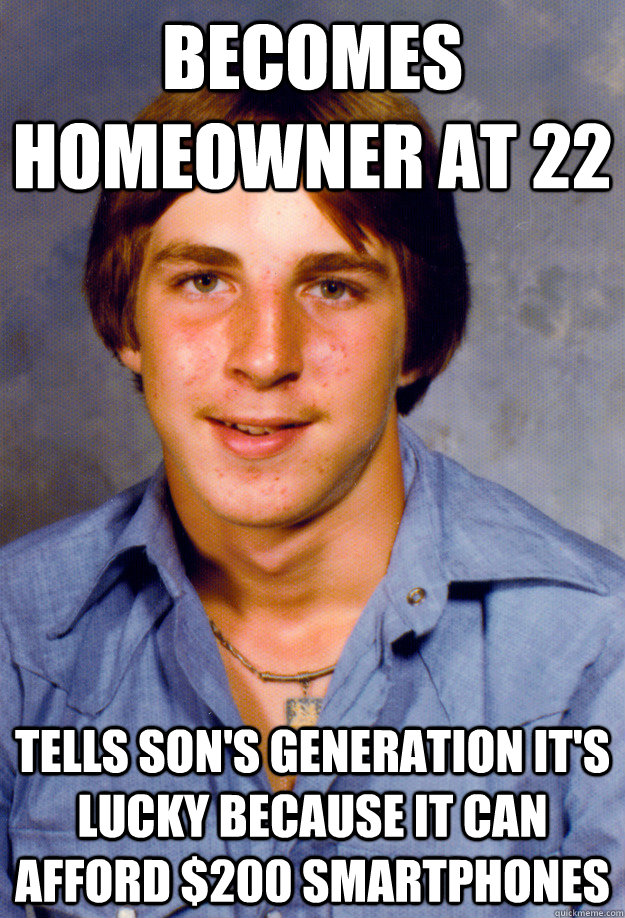 The Old Economy Steve meme took off after the financial crisis, speaking to its generational dimensions