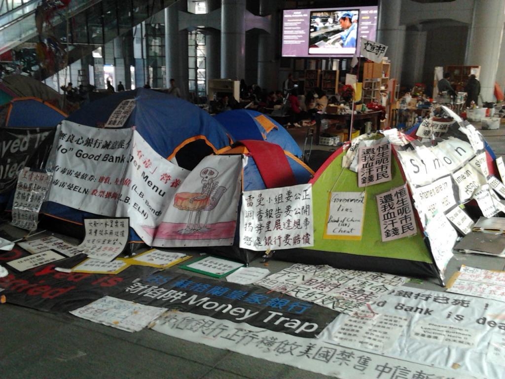 Hong Kong's original Occupy movement